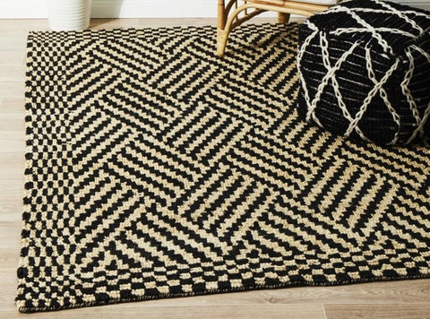 old and modern combined rug