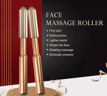 Load image into Gallery viewer, Gold Face Massage Roller