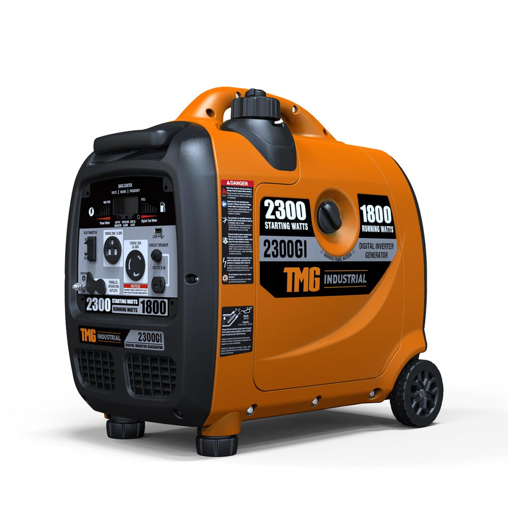 2300-Watt Inverter Generator - Gas Powered - Ultra Quiet Operation