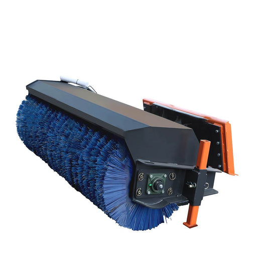 "72"" Skid Steer Rotary Angle Broom"