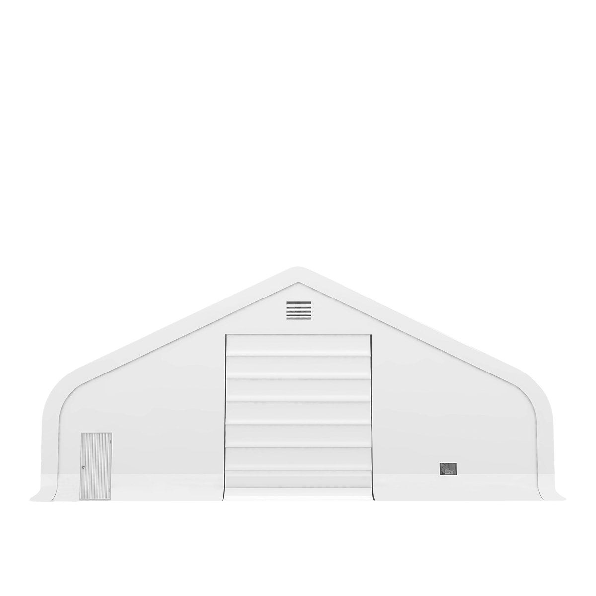 Pro Series 50' x 80' Dual Truss Storage Shelter with Heavy Duty 32oz PVC Fabric