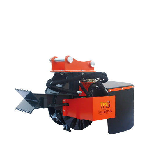 18-in Excavator Stump Grinder Attachment for 3-7 Ton Machines