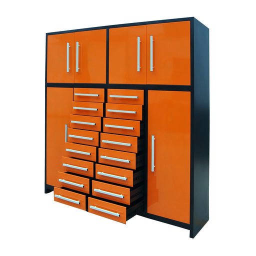 "88"" Multi-Drawer Tool Storage Chest for Workshops and Garages"