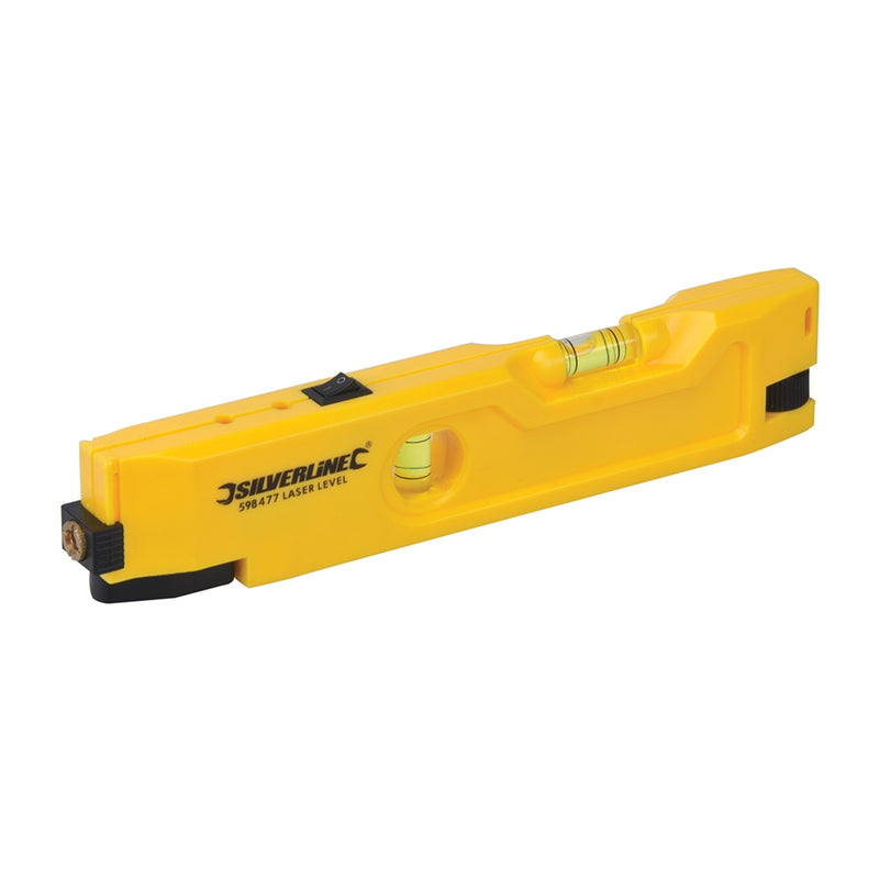 210MM MINI LASER LEVEL 598477 FOR BUILDING LASER-tooltime.co.uk