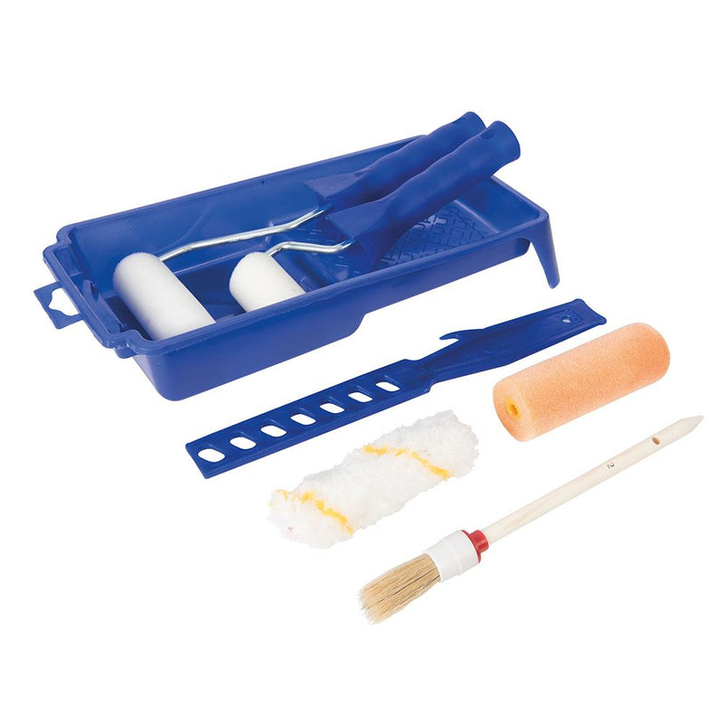 9PCE DECORATORS ROLLER & BRUSH SET 9PCE 564795-tooltime.co.uk