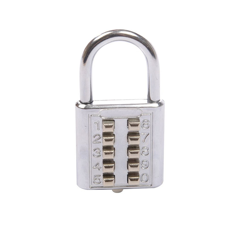 38MM DIGITAL COMBINATION PADLOCK 10-DIGIT 960640-tooltime.co.uk