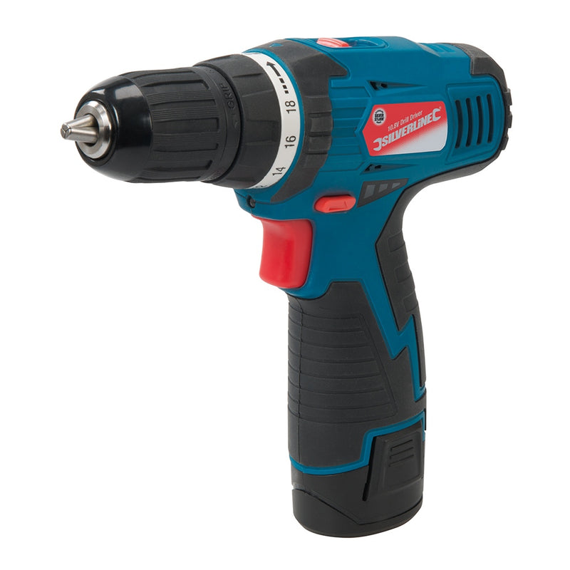 10.8V CORDLESS DRILL DRIVER 521457-tooltime.co.uk
