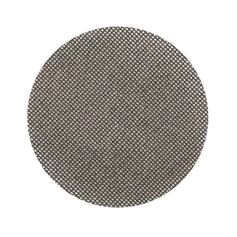 120 GRIT HOOK & LOOP MESH DISCS 115MM 10PK 579566-tooltime.co.uk