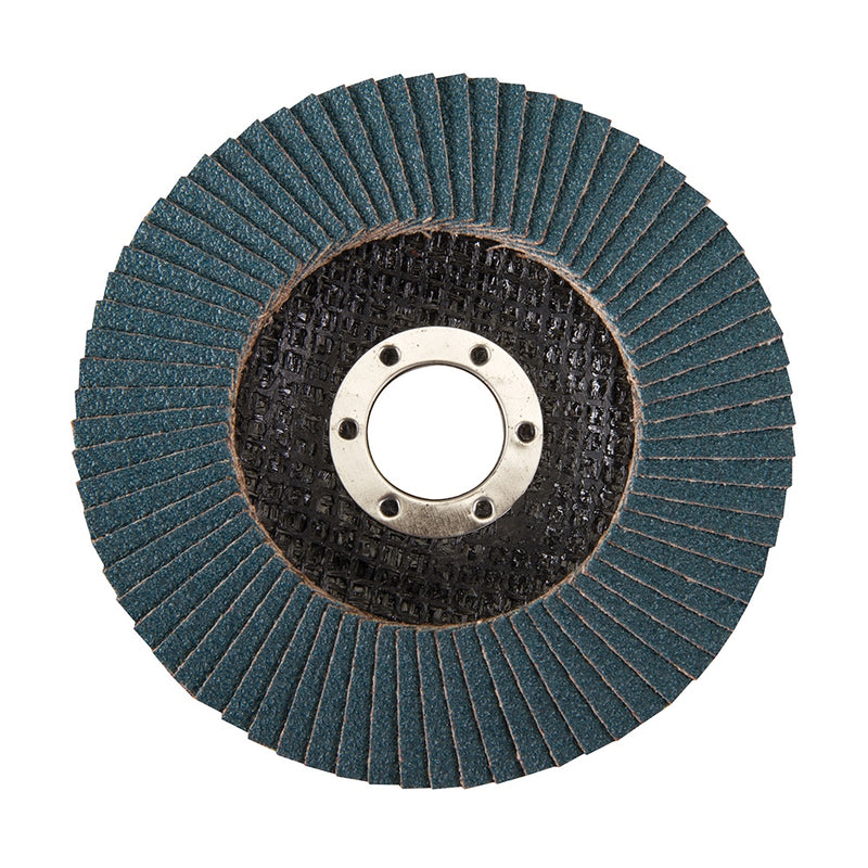 115MM 60 GRIT ZIRCONIUM FLAP DISC 868821-tooltime.co.uk