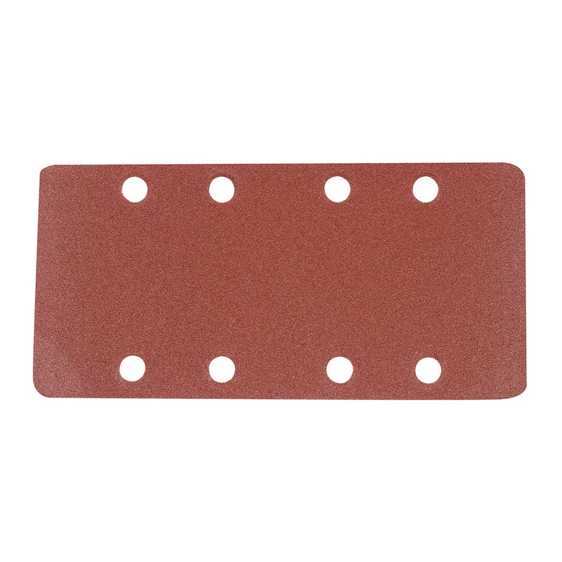 120 GRIT HOOK & LOOP 1/3 SHEETS PUNCHED 10PK 868737-tooltime.co.uk