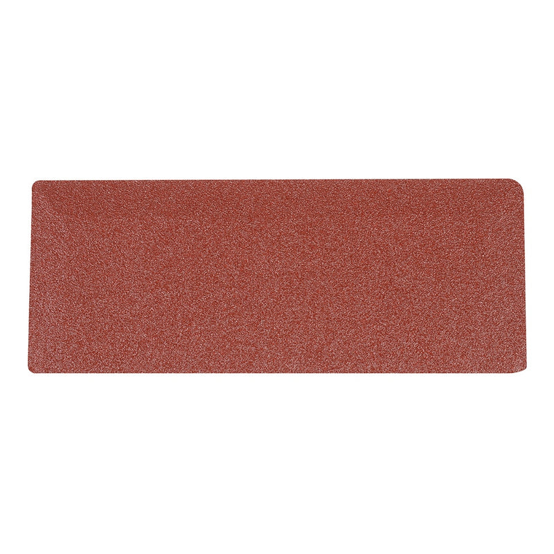 80 GRIT 1/3 SANDING SHEETS 10PK 214702-tooltime.co.uk