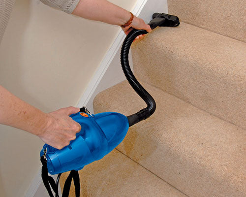 DRAPER 240V HAND HELD PORTABLE VACUUM CLEANER + TOOLS HOOVER CAR HOME WORKSHOP - tooltime.co.uk