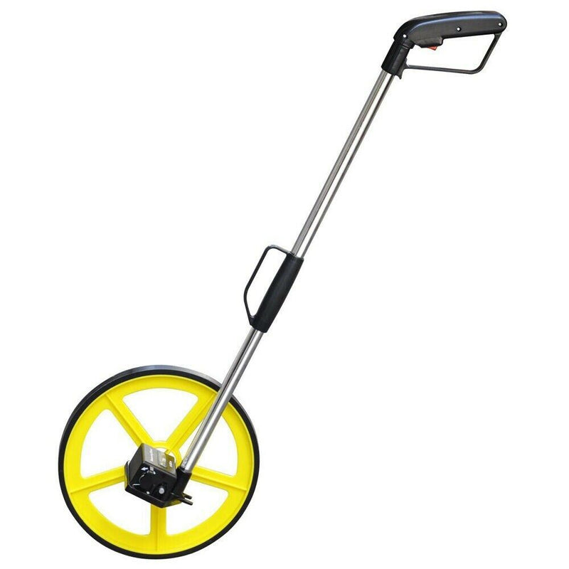 DISTANCE MEASURING WHEEL WITH STAND FOLDABLE IN BAG SURVEYORS BUILDERS ROAD LAND - tooltime.co.uk