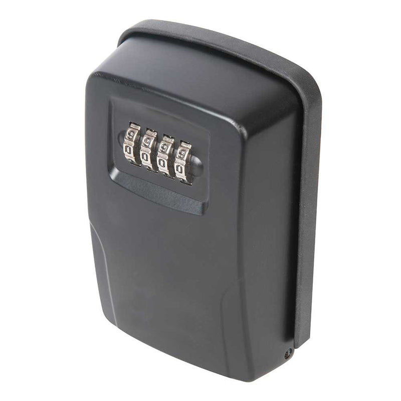 OUTDOOR HIGH SECURITY WALL MOUNTED KEY SAFE BOX CODE SECURE LOCK STORAGE 4 DIGIT-tooltime.co.uk