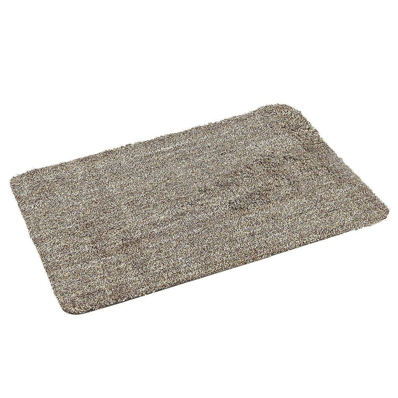 DOOR MAT SUPER ABSORBENT STEP CLEAN MAGIC WASHABLE INDOOR ANTI SLIP DOORMAT - tooltime.co.uk