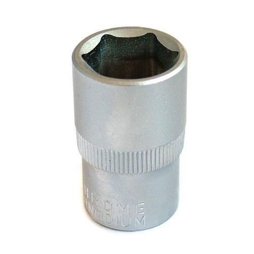 "19MM SHALLOW CRV STEEL SOCKET 1/2"" DRIVE METRIC-tooltime.co.uk"