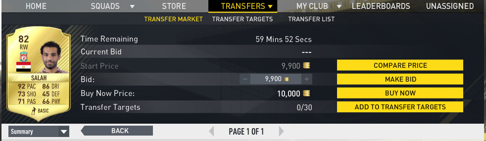 Finding a player to buy to make free fifa coins
