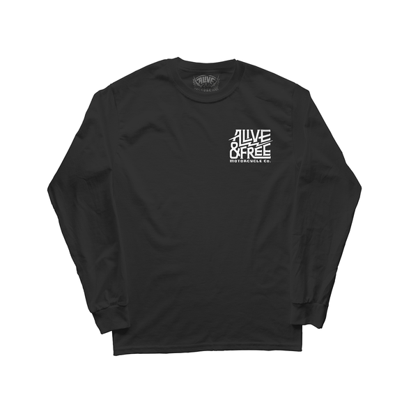 """The Classic""  Long Sleeve *Glows In The Dark* - A&fco"