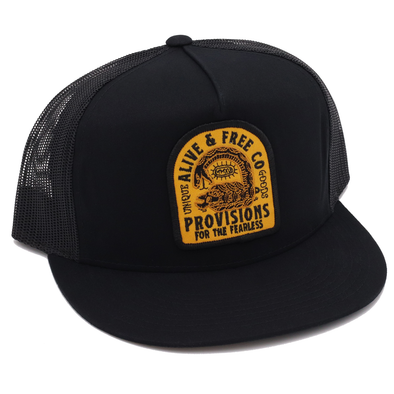Cottonmouth Trucker Snapback - A&fco