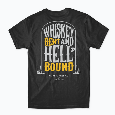 """Hell Bound"" Classic Tee - A&fco"
