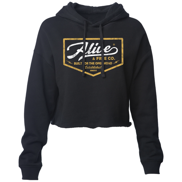 """Billet"" Cropped Hoodie - A&fco"
