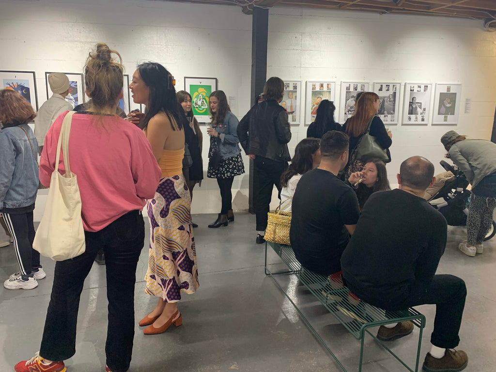 ahua-collective-opening-night-success