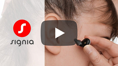 How to insert your Signia Active hearables