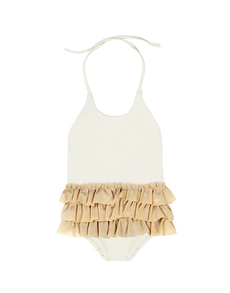 Baby Degas Bathing Suit Ivory