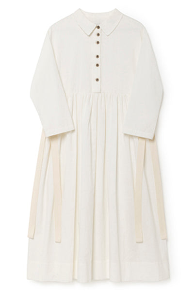 Horizon Dress in White (Kids)