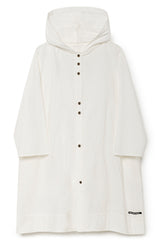 Hooded Horizon Dress in White (Women)