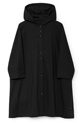 Hooded Horizon Dress in Black (Women)