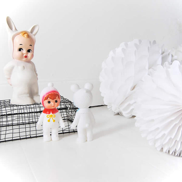 WHITE Baby Lapin Lamp