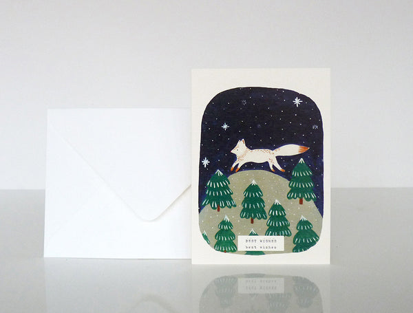 """Let it snow!"" Pack of 6 greeting cards"