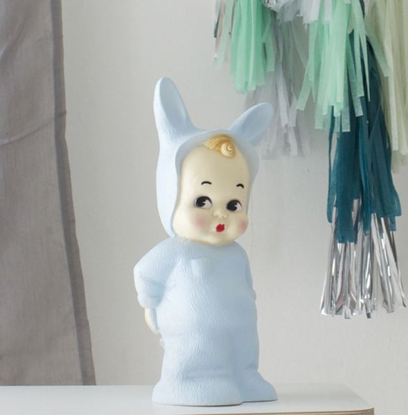 CHALKY BLUE Baby Lapin Lamp