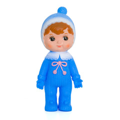 BLUE Woodland Doll