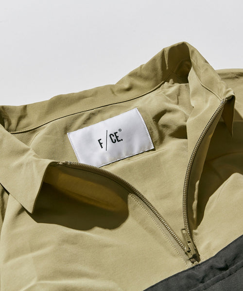 ANORAK LONG ONE-PIECE in Beige
