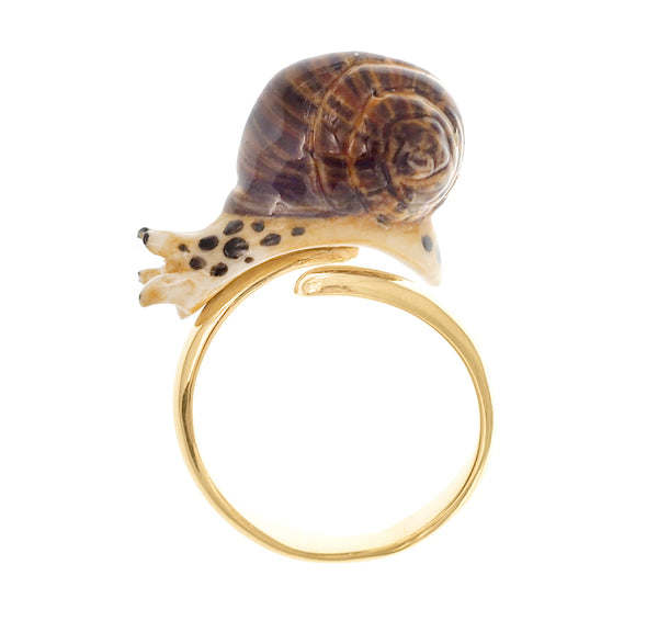 Round Snail Ring