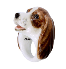 Basset Hound Dog Ring