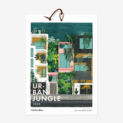 2020 Urban Jungle Calendar