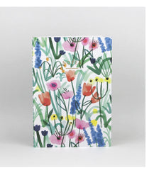 Country Floral Notebook