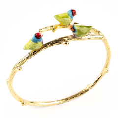 "BIRDS BRANCH BRACELET - ""NATURE MORTE"""
