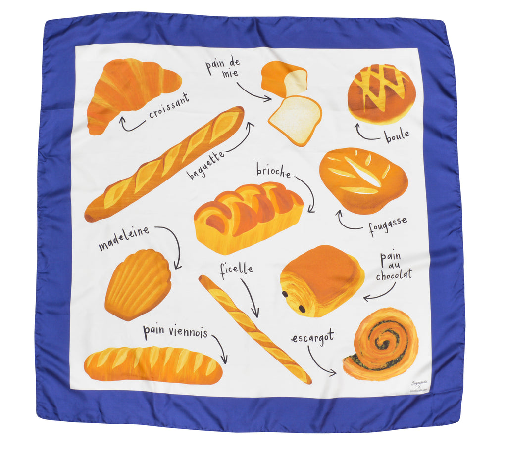 Bread Scarf by Joyeuserie X Cicoillustrates