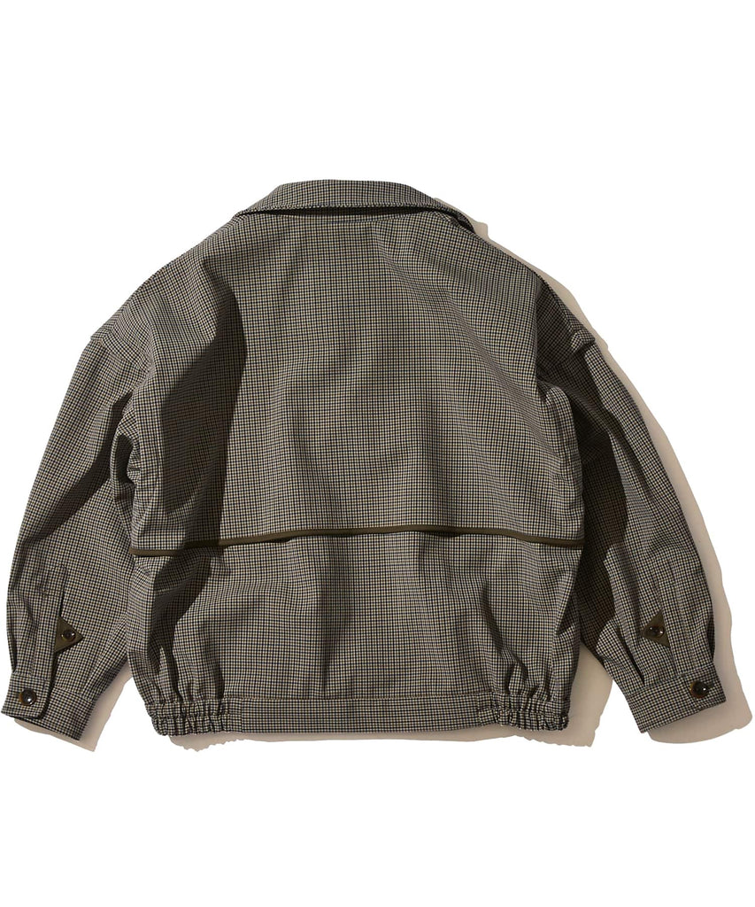 CHECK BONDING SHORT BLOUSON