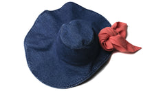 Hat Carolina in Blue Denim (Kids)