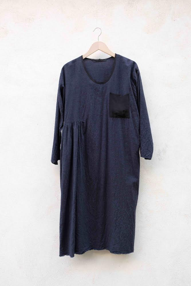 DRESS DÉLIÉ IN Navy