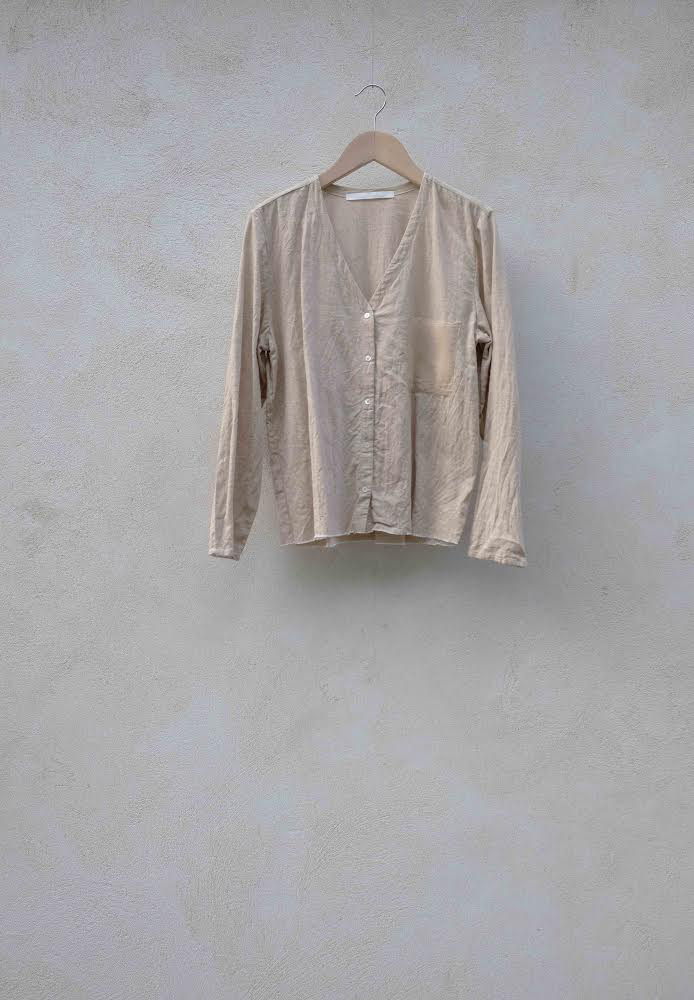 Shirt Dénudé in Beige