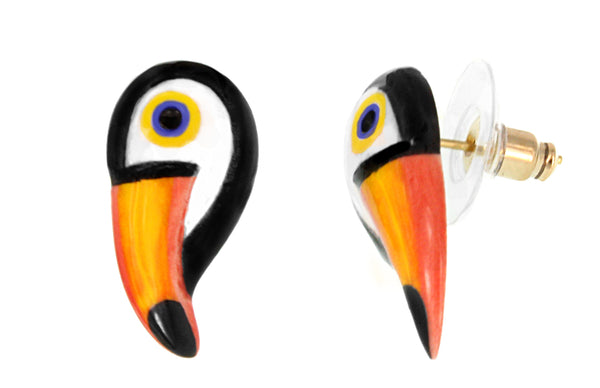 Mini Toucan Earrings