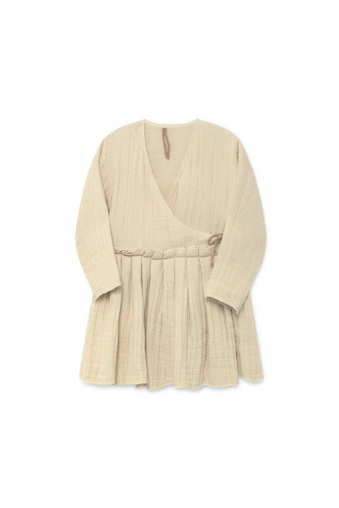 Tanka Wrap Jacket in Cream