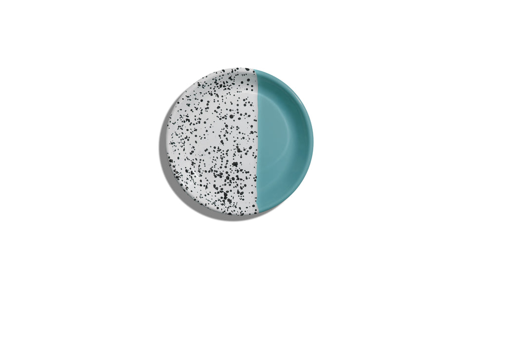 MIND - POP TURQUOISE GREEN DESSERT PLATE