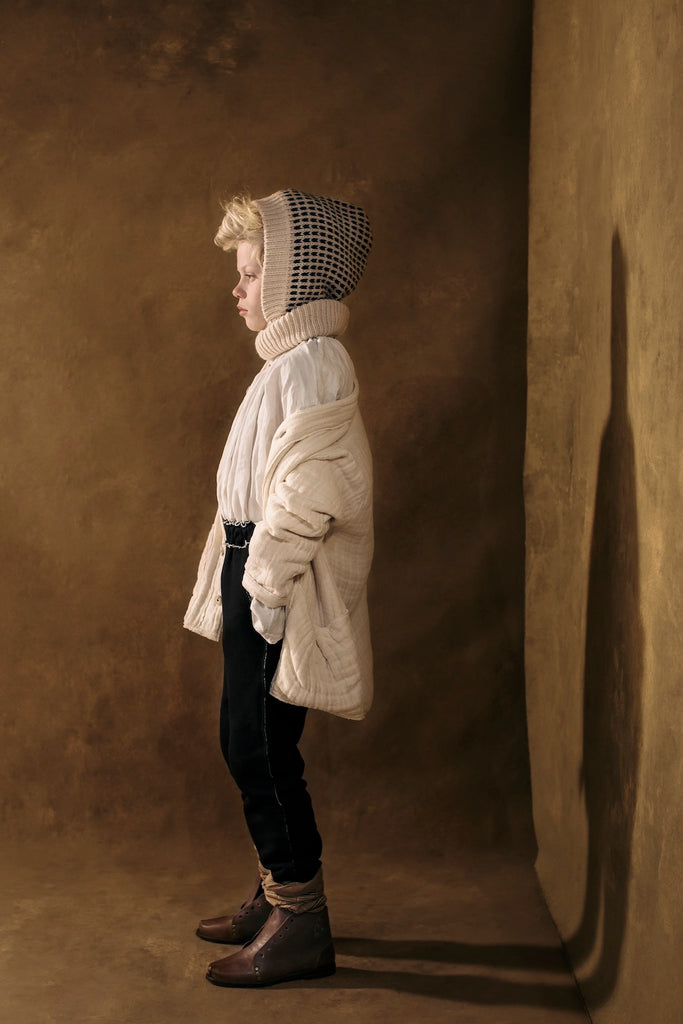 Tanka Jacket in Cream